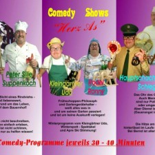 Herz-As Comedy Shows