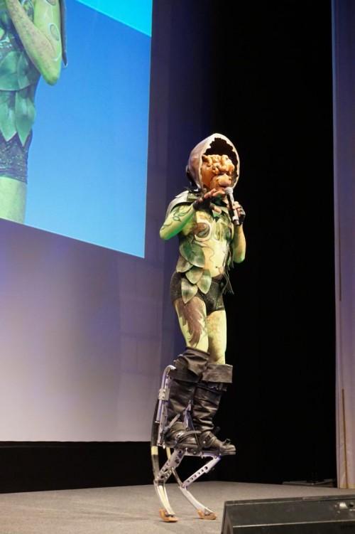 Comedy Walkakt mit Bodypaint in Ihren Wunschrollen