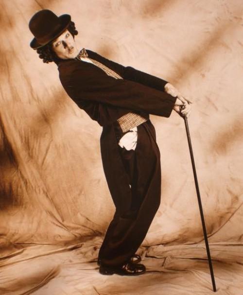 Charlie Chaplin Double Walkact