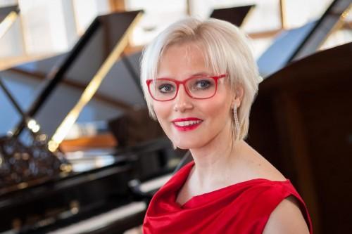 Pianistin Anja Halefeldt