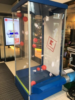 Wirbelbox / Cashbox