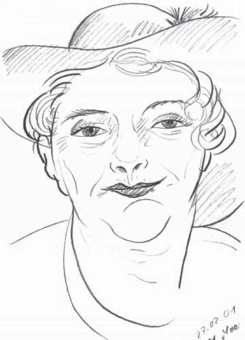 Schnellzeichnerin Margarete