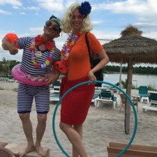 Beachparty Programm & Walkacts mit Los Lachos