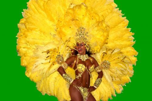 Samba-Tänzerinnen! Copacabana Sambashow