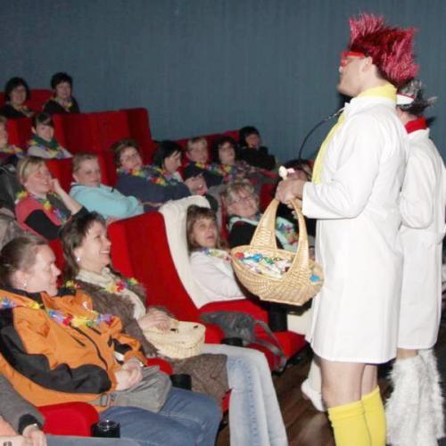 Frauentags Comedy Show Programm mit Sexapeel